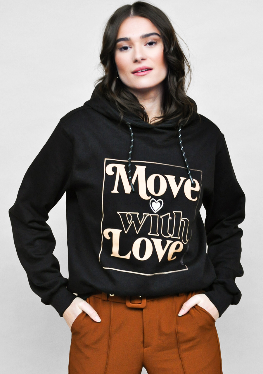MOVE WITH LOVE HOODIE - pre order